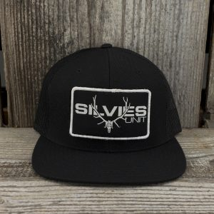 Block Hat Black Mesh