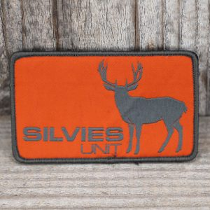 Buck Block Patch Grey