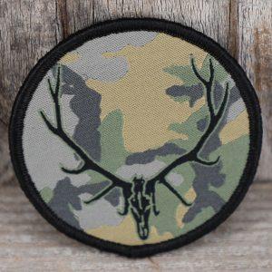 Bullseye Elk Antlers Camo