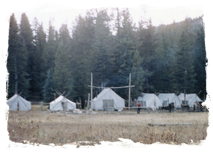 Hunting tents
