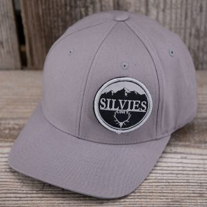 Bullseye Flexfit Hat Grey
