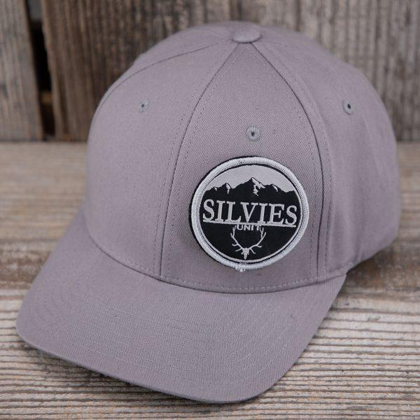 Bullseye Flexfit Hat Grey