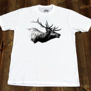 Elk Mount T White